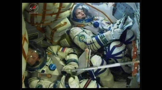 第49/50次クルー国際宇宙ステーションへ向けソユーズロケットで打ち上げ