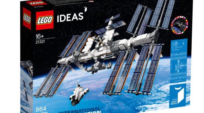 ISS運用から20年を記念してLEGOから発売!